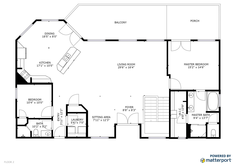 1135 Via Appia Floor 2