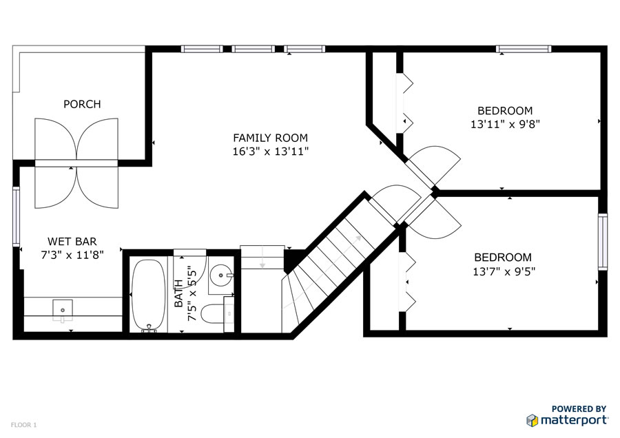 177 Ridgewood Floor Plan