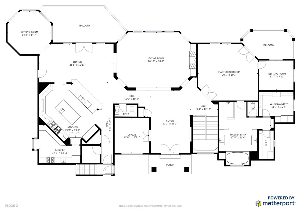 South Majestic Floor Plan 2